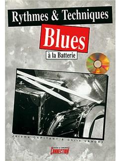 Rythmes & Techniques Blues  à la Batterie Books and CDs | Drums