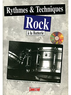 Rythmes & Techniques Rock à la Batterie Books and CDs | Drums