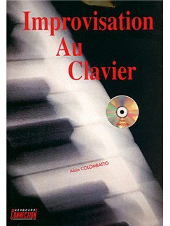 Improvisation Au Clavier Books and CDs | Keyboard