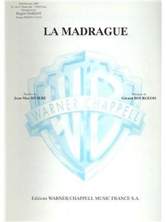 Brigitte Bardot: Madrague (La) Books | Piano & Vocal