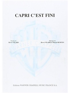 Herve Vilard: Capri C'est Fini Books | Piano & Vocal