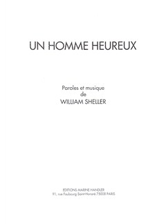 William Sheller: Homme Heureux (Un) Books | Piano, Vocal & Guitar