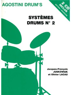 Systèmes Drums N°2 Books and CDs | Drums