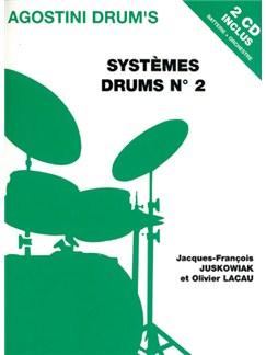 Systèmes Drums N°2 CD et Livre | Batterie