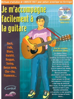Je m'accompagne facilement à la Guitare Books and CDs | Guitar