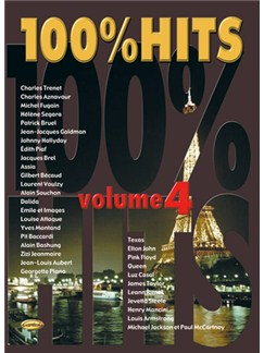 100% Hits, Volume 4 Livre | Piano, Vocal & Guitar