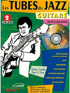 Tubes du Jazz (Les) : Guitare, Volume 2 Books and CDs | Guitar