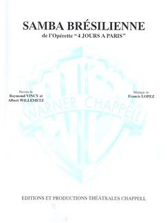 Samba Brésilienne (De l'operette 4 Jours a Paris) Books | Piano & Vocal