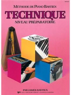 Méthode de Piano Bastien : Technique, Niveau Préparatoire Books | Piano