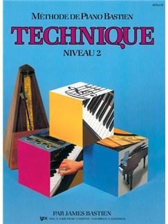 Méthode de Piano Bastien : Technique, Niveau 2 Books | Piano