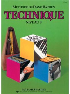 Méthode de Piano Bastien : Technique, Niveau 3 Books | Piano