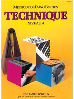 Méthode de Piano Bastien : Technique, Niveau 4 Books | Piano