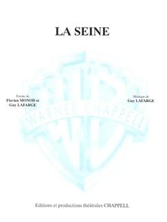 Guy Lafarge: La Seine Livre | Piano et Chant
