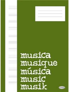 Quaderno di Musica (Block, Cahier de Musique) Books | Piano