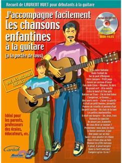 J'accompagne Facilement Les Chansons Enfantines à la Guitare CD et Livre | Guitar