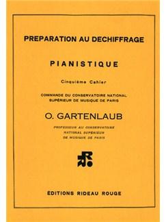 Préparation Au Déchiffrage Pianistique - 5ème Cahier Books | Piano