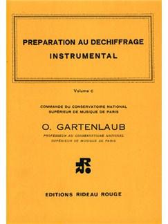 Préparation Au Déchiffrage Instrumental : Volume C - Supérieur Books | All Instruments