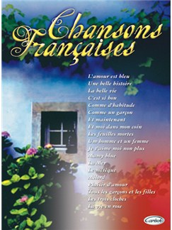 Chansons Françaises Books | Piano, Vocal & Guitar