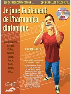 Je Joue Facilement de l'harmonica Diatonique CD et Livre | Harmonica