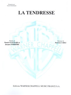 Daniel Guichard: Tendresse (La) Livre | Piano & Vocal