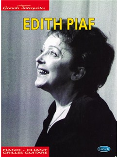 Edith Piaf: Collection Grands Interprètes Books | Piano, Vocal & Guitar