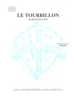 Tourbillon (Le) (Du Film Jules and Jim) Livre | Piano & Vocal
