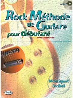 Rock Méthode de Guitare pour Débutant Avec Tablatures Books and CDs | Guitar Tab