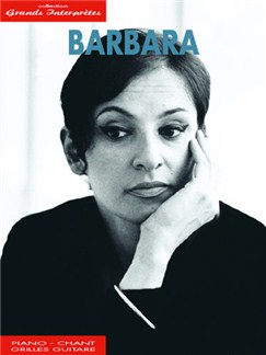 Barbara: Collection Grands Interprètes Livre | Piano, Vocal & Guitar
