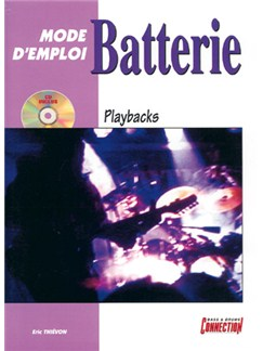 Batterie Mode d'Emploi - Playbacks Books and CDs | Drums