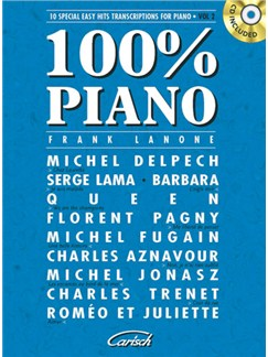 100% Piano, Volume 2 CD et Livre | Piano