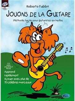 Jouons de la Guitare CD et Livre | Guitare
