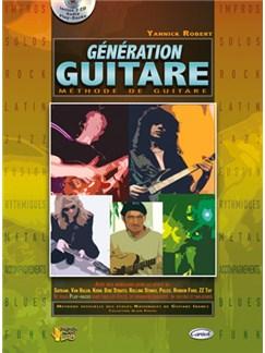 Yannick Robert: Génération Guitare CD et Livre | Guitare