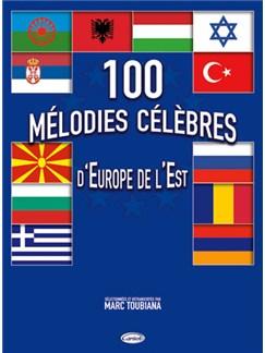 100 Mélodie Célèbres d'Europe de l'Est Livre | Guitar