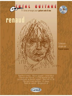 Renaud: Collection Total Guitare CD et Livre | Guitar