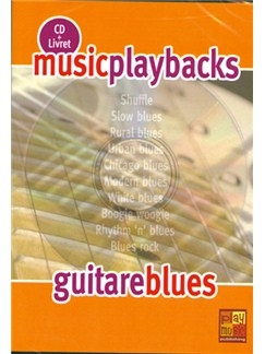 Music Playbacks CD : Guitare Blues CDs | Guitar