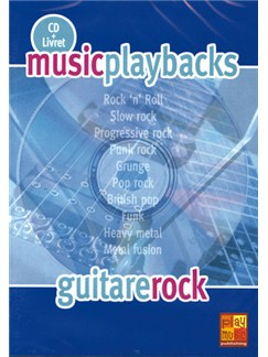 Music Playbacks CD : Guitare Rock CDs | Guitar