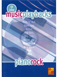 Music Playbacks CD : Piano Rock CDs | Piano