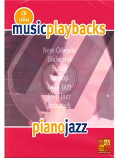 Music Playbacks CD : Piano Jazz CDs | Piano