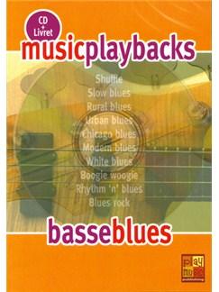 Music Playbacks CD : Basse Blues CDs | Bass Guitar