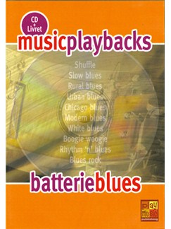 Music Playbacks CD: Batterie Blues CDs | Drums