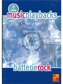 Music Playbacks CD : Batterie Rock CDs | Drums