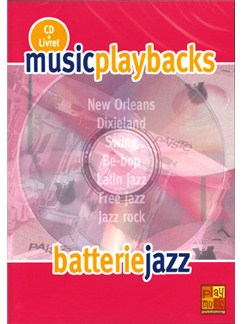 Music Playbacks CD : Batterie Jazz CDs | Drums