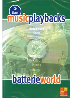 Music Playbacks CD : Batterie World CDs | Drums