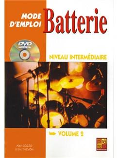 Batterie Mode d'Emploi, Niveau Intermediaire Books and DVDs / Videos | Batterie