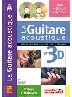 Guitare Acoustique en 3D (La) Books, CDs and DVDs / Videos | Guitar