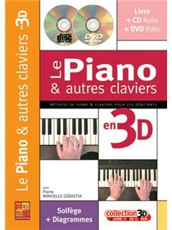 Piano & Autres Claviers en 3D (Les) Books, CDs and DVDs / Videos | Piano