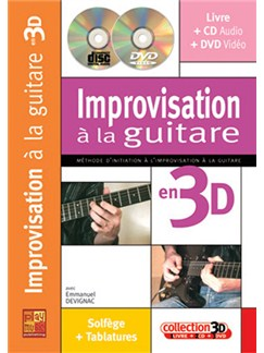 Improvisation à la Guitare en 3D Books, CDs and DVDs / Videos | Guitar