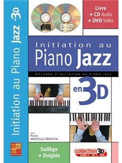 Initiation Au Piano Jazz en 3D CD, DVDs / Videos et Livre | Piano
