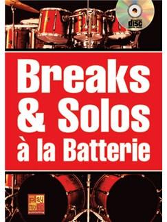 Breaks & Solos à la Batterie Books and CDs | Drums