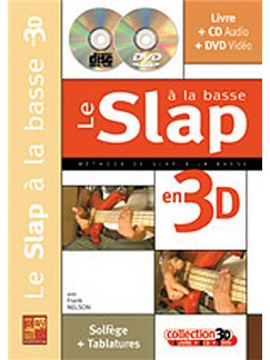 Slap a la Basse en 3D (Le) Books, CDs and DVDs / Videos | Bass Guitar